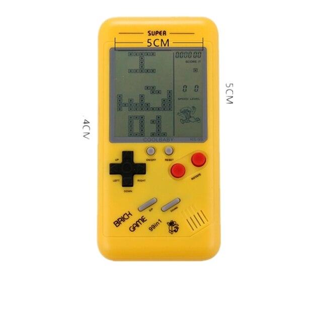 Classique Tetris machine de jeu enfants étudiants classique nostalgique puzzle petite console de jeu portable