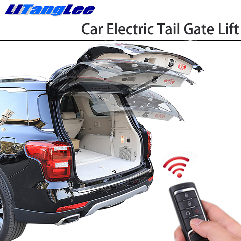 LiTangLee Car Electric Tail Gate Lift Tailgate Assist System For Nissan Terra EL VE VL 2018 2019 Remote Control Trunk Lid