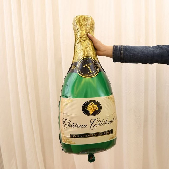 2 Pcs Champagne Balloons