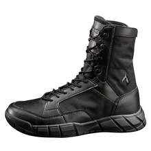 High quality Outdoor sport high-top Hiking shoes Men winter thicken Tactical Combat Military trekking boots Breathable sneakers
