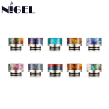 Nigel Epoxy Resin 810 Drip Tip Wide Bore Stainless Steel Drip Tips Mouthpiece For TFV8 TFV12