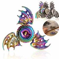 Hot Game Of Thrones EDC Toy Bat Triangular Hand Spinner High Quality Metal Hand Spinner Tri