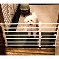 Pawstrip 2 размера Регулируемый для собаки ворота Собака Забор Pet изоляция ворота крытый манеж для собаки экономии пространства шкаф Органайзер