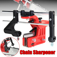 Universal Pro Lawn Mower Chainsaw Chain File & Guide Sharpener Grinding Guide for Garden Chain Saw Sharpener Garden Tools