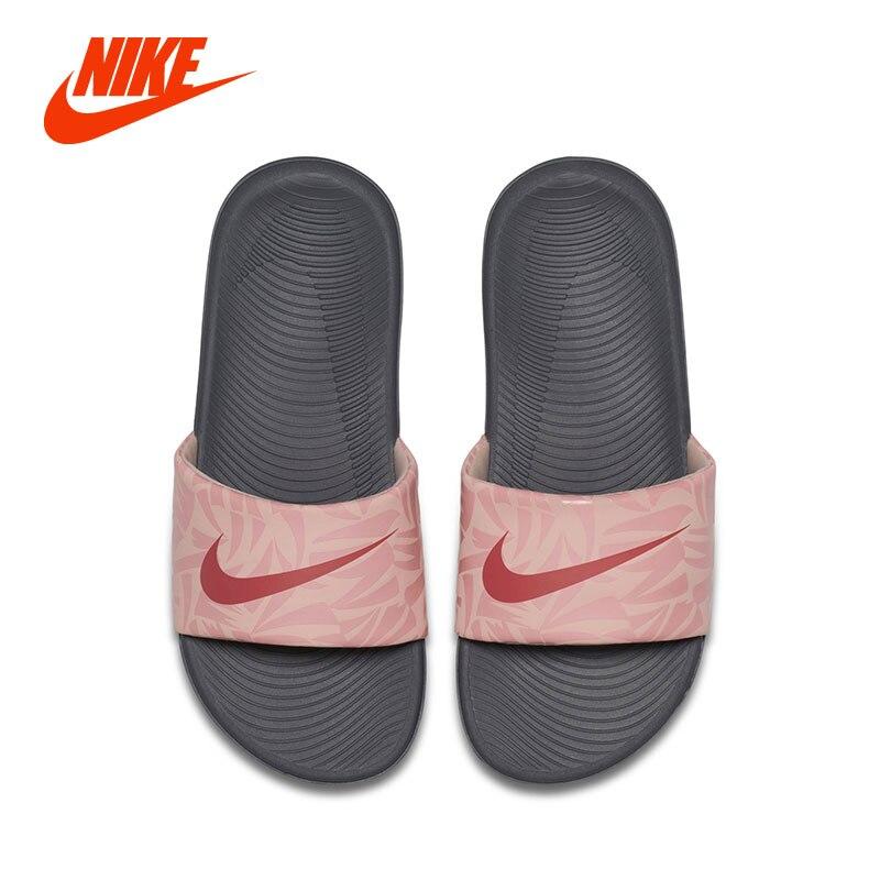 separation shoes cf81b 0804e NIKE KAWA SLIDE PRINT (GS/PS) Baby Girl Kids Summer Sandals ...