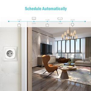 Image 4 - Smart WiFi Plug, Energy Monitor, Alexa e Google Assistant e SmartThings e IFTTT supportati, telecomando App MSS310 Standard ue