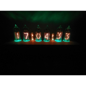 Image 3 - DIY without tube former Soviet Union IN 14 glow clock electronic tube clock circuit board
