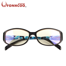 2017 FONHCOO New fashion Anti Blue ray Radiation protection glasses men Computer goggles men gaming glasses frame women