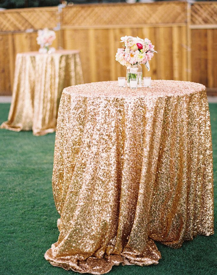 Delicieux Wholesale 10pcs/lot 120u0027u0027(300cm) Round Gold/Silver/Champagne Sequin  Tablecloth Big Size Glittery Table Cloth For Wedding Event  In Tablecloths  From Home ...