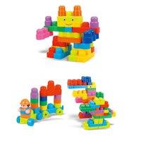 100 STÜCKE Große Partikel aus Holz Spielzeug für Kinder Geburtstag Weihnachtsgeschenke für Baby Puzzle Stück von Kindheit Bildung Spielzeug Oyuncak