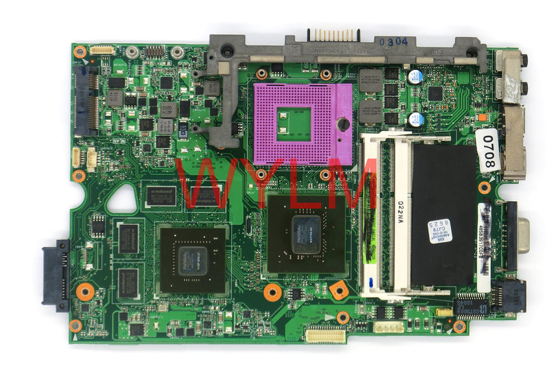 FREE SHIPING original K40I K50I K50ID K40ID Laptop motherboard MAIN BOARD mainboard N10P-GV2-C1 100% Tested Working