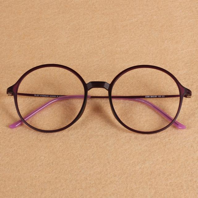 De gran tamaño Ronda Ultem PEI Tungsteno Marco Óptico Miopía Gafas de Lectura Luz Unisex Hombres Mujeres Estudiante Friki Gafas de Prescripción