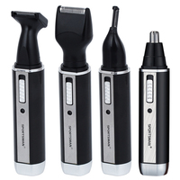 4 In 1 Rechargable Ear Nose Trimmer Electric Shaver Beard Face Eyebrows Nose Ear Hair Trimmer
