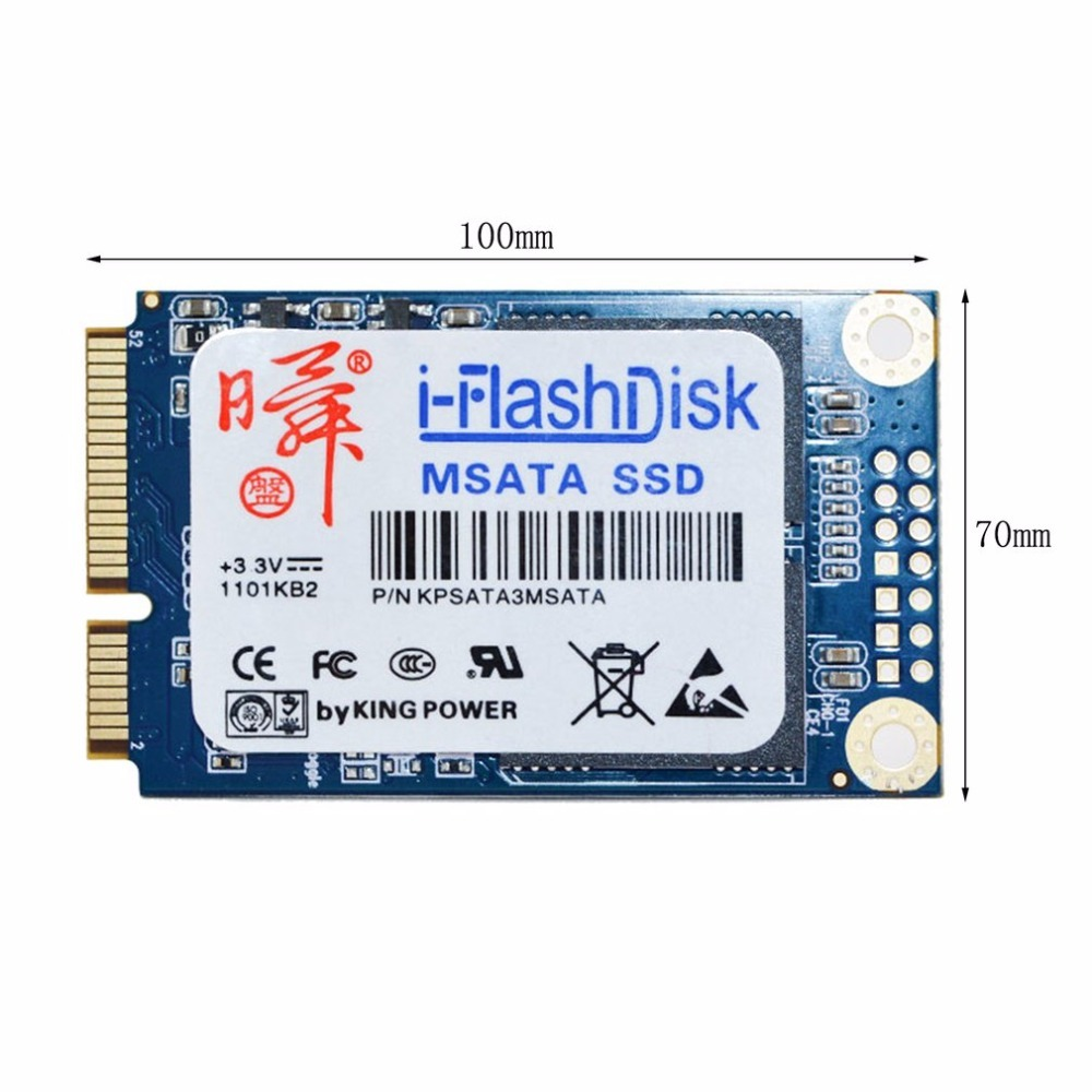 i-Flash Disk 60GB 120GB SATA6Gb/s MSATA SSD Solid State Drives Without Cache 440MB High-Speed Transmission Drop Shipping zheino q1 msata sata iii 6gb s ssd 60gb ssd solid state drive mlc flash storage devices disk for desktoo laptop