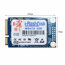 i-Flash Disk 60GB 120GB SATA6Gb/s MSATA SSD Solid State Drives Without Cache 440MB High-Speed Transmission Drop Shipping