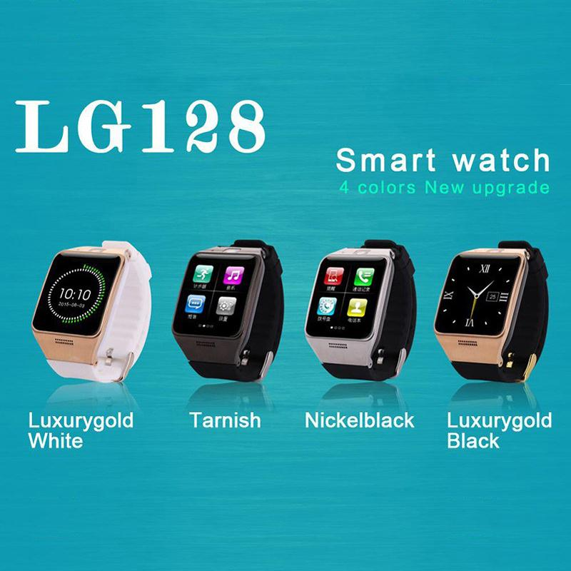 LG128 GT88 font b Smartwatch b font Bluetooth Smart Watch For Android IOS Phone Support SIM