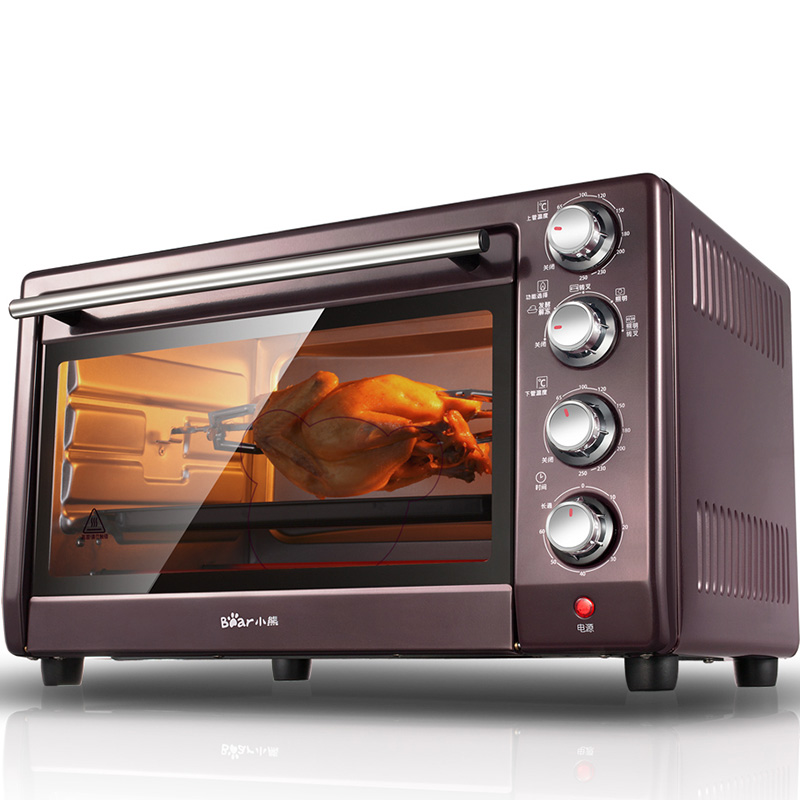Mini Microwave Convection Oven: Bear 220V 30L Multifunctional High Quality Mini Oven