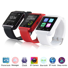 Bluetooth smart watch u8 armbanduhr für iphone ios android handy sport smartwatch unterstützung sync anruf nachricht pk gt08 dz09