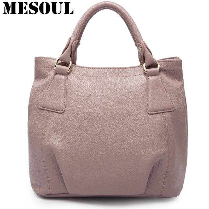 Bucket Bag Women's Handbag And Purses Satchel Genuine Leather Tote Shoulder Bags Casual Crossbody Female Bag 2016 New bolsos