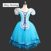Длинные Балетная пачка платье Для женщин Giselle действовать 1, La Vivandiere, тщетная предосторожность, napoli Жизель 1st действовать