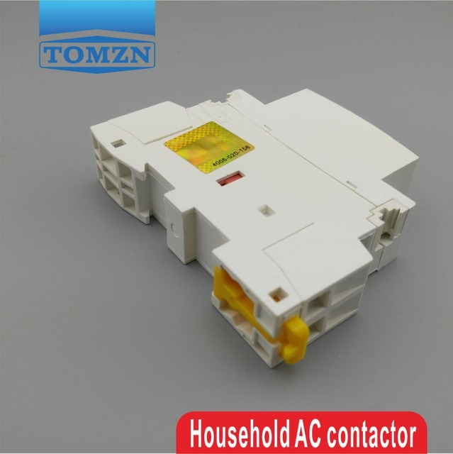 CT1 2P 20A 220V/230V 50/60HZ Din rail Household ac Modular contactor 2NO