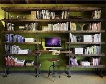 Bucherregal Mit Schreibtisch