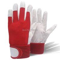 Лучшие продажи продуктов Механика Работы перчатки кожа покрытие для защиты от сварки Тяжелая промышленная перчатка спортивные перчатки