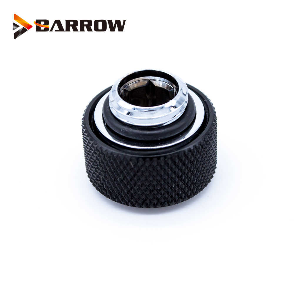 BARROW Hand Compressie OD12mm/OD14mm/OD16mm Harde Buis Montage Water Koeling Metalen Connector Montage G1/4'' draad TEPG Acryl