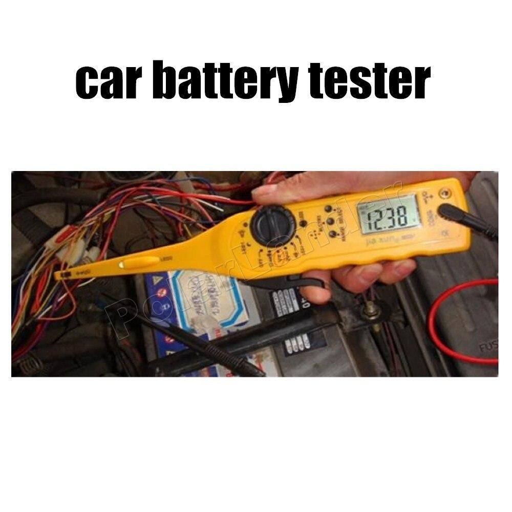 Haute qualité multi-fonction voiture Auto véhicule testeur de Circuit multimètre voiture réparation automobile électrique outil de diagnostic
