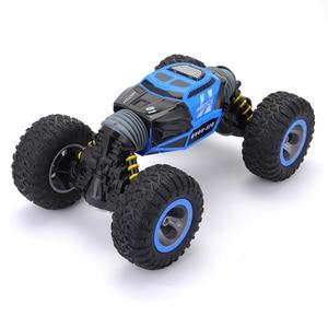 Image 2 - Cymye voiture radiocommandée 4WD Double face, 2.4GHz, une clé, Transformation, véhicule tout terrain, Varanid, camion descalade