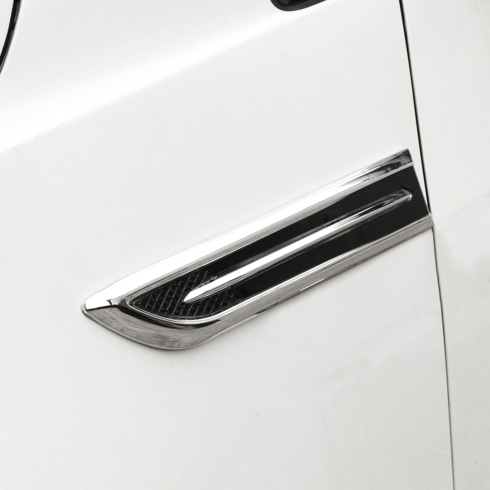 Fiber Fender Cover Abs Chrome Car Intake Engine Cover Car Stye For Smart Forfour Fortwo Roadster Vauxhall Adam Astra Vectra Vxr8