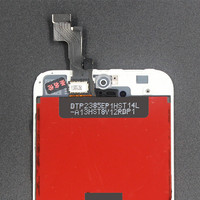 10PCS LOT LCD Display Touch Screen Digitizer Assembly For Iphone 5S White Replacement No Dead Pixel