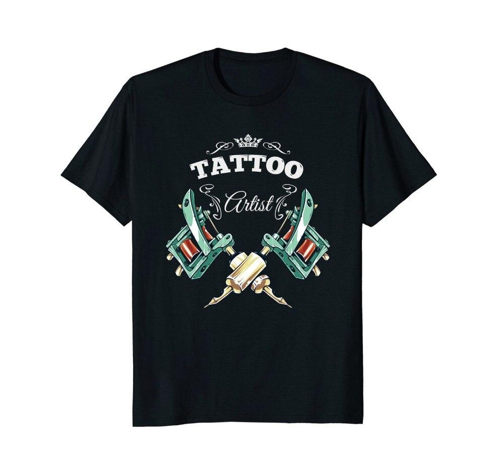 Kopen Goedkoop 2018 Nieuwe Zomer Tee Shirt Tattoo Artist T
