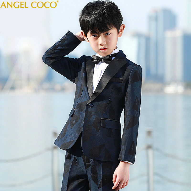 Boys Blazers Kids Boys Suits For Weddings Prom Suits Wedding Dress For Boys Kids Tuexdo Children Clothing Blazers For Boys