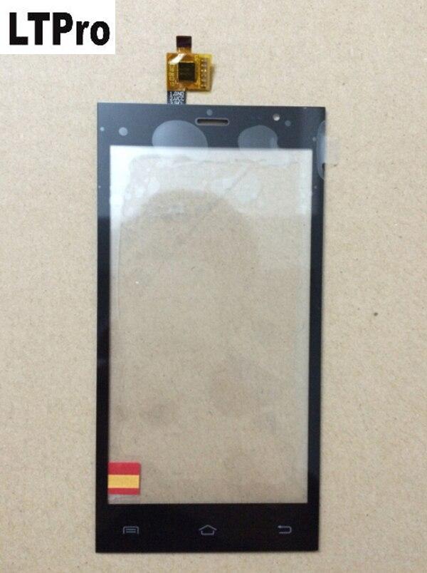 LTPro лучшее качество 5,0 дюймов Сенсорный экран дигитайзер для JIAKE JK13 сотовый телефон черный JK-13 Стекло панель Запчасти