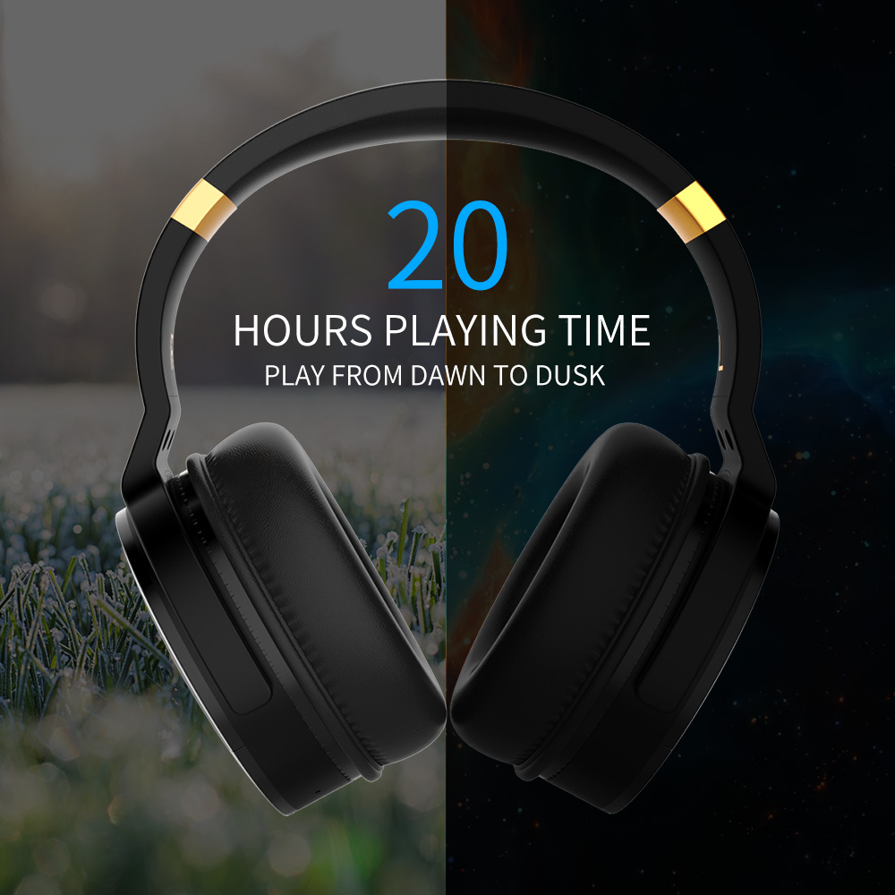 Cowin E8 Wireless Noise Cancelling Bluetooth Stereo Headphones w/ Deep Bass 30dB level 4