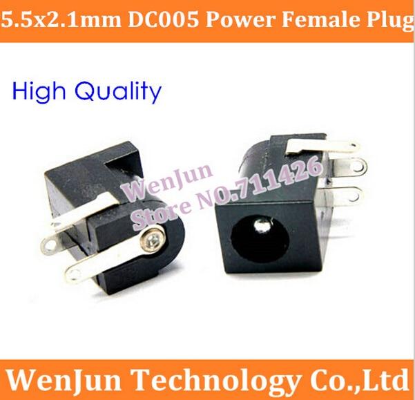 20PCS Female DC Power Jack supply socket 5.5X2.1mm