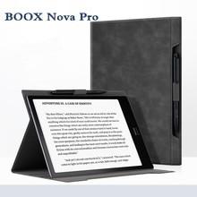 2019 جديد Boox نوفا برو الحافظة جزءا لا يتجزأ جلدية حالة يبوك حالة أعلى بيع أسود غطاء ل Onyx BOOX نوفا برو 7.8 بوصة