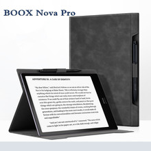 2019 nueva Funda de cuero integrada Boox Nova Pro funda de libro electrónico tapa negra para Onyx BOOX Nova Pro 7,8 pulgadas