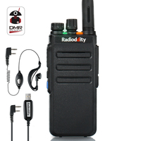 Radioddity GD 77S Dual Band Dual Time Slot DMR Digital Analog Two Way Radio VHF UHF