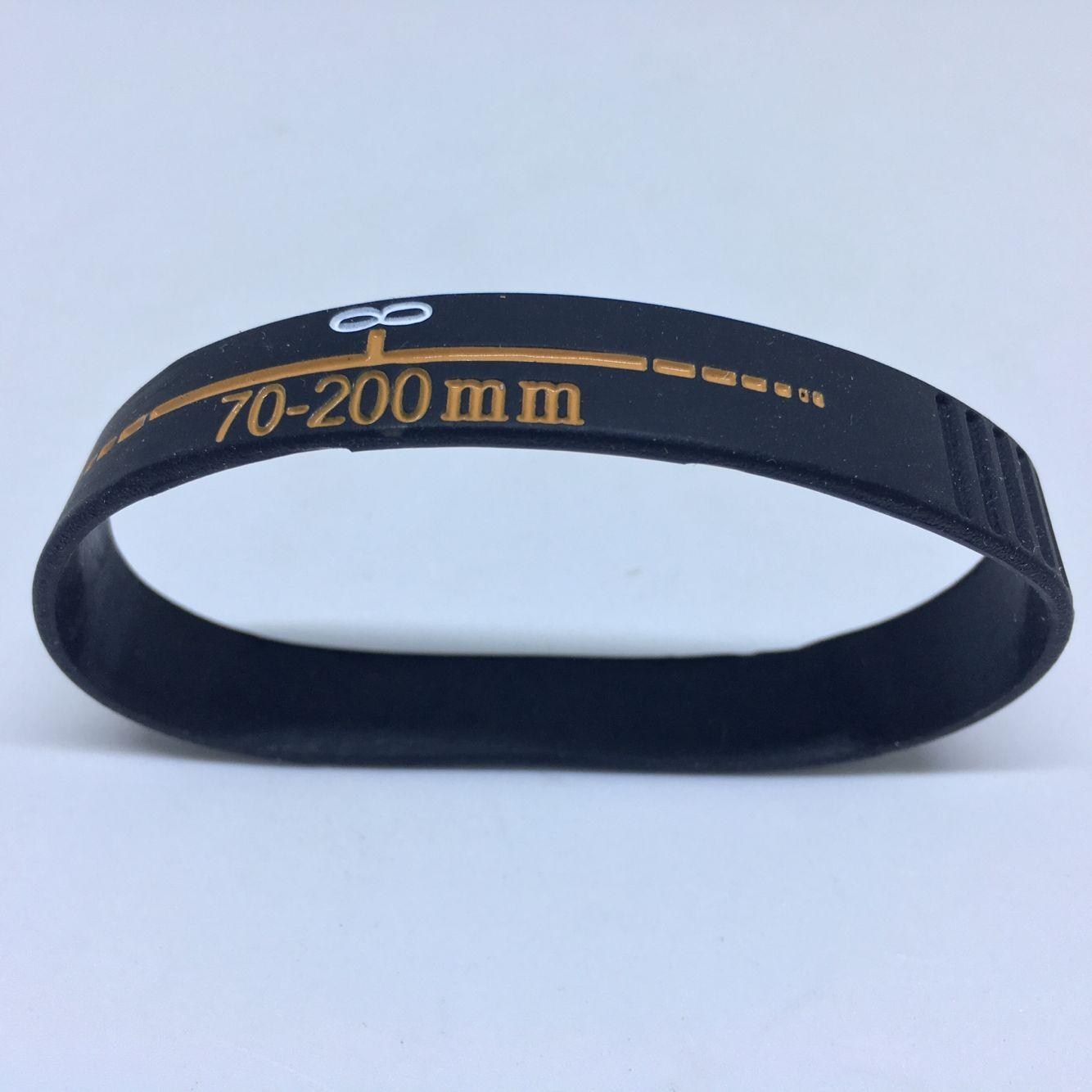 New Lens Bracelets Photographer silicone bracelet Wristbands Lens Zoom Creep for canon nikon DSLR camera free shiping - ANKUX Tech Co., Ltd