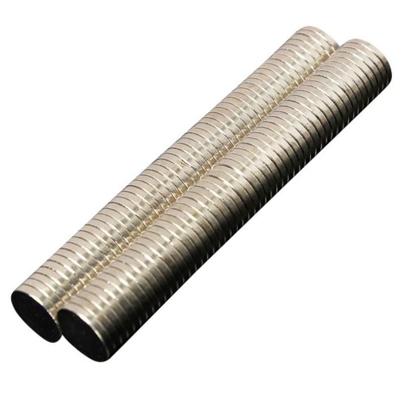 50/100 шт супер сильные круглые магниты 10mmX1mm Редкоземельные неодимовые N35 Магнит 10*1 мм 10x1мм