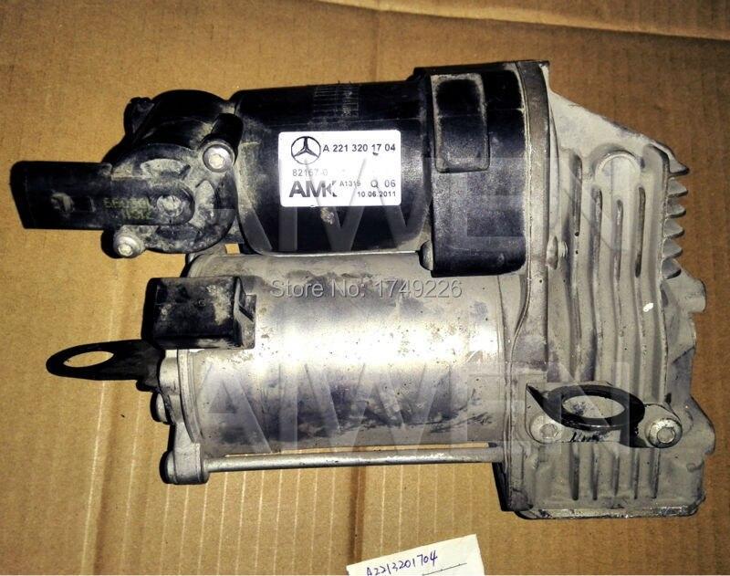 OriginalGenuine MercedeBenz W221 Air supply device air suspension air spring compressor pump air intake automobiles 2213201704