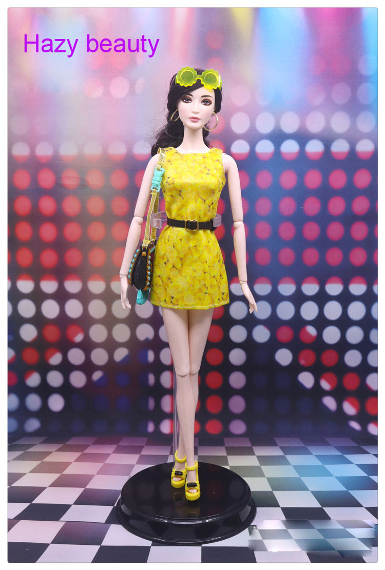 Hazy beauty doll clothes dress Fashion suits for BB 1 6 dolls BBI363