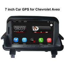 7 inch Car GPS Navigation for Chevrolet Aveo Car Radio Video Player Support WiFi Intelligent mobile phone Mirror-link