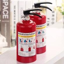 Fire extinguisher piggy bank style plastic desktop decoration change cans gift