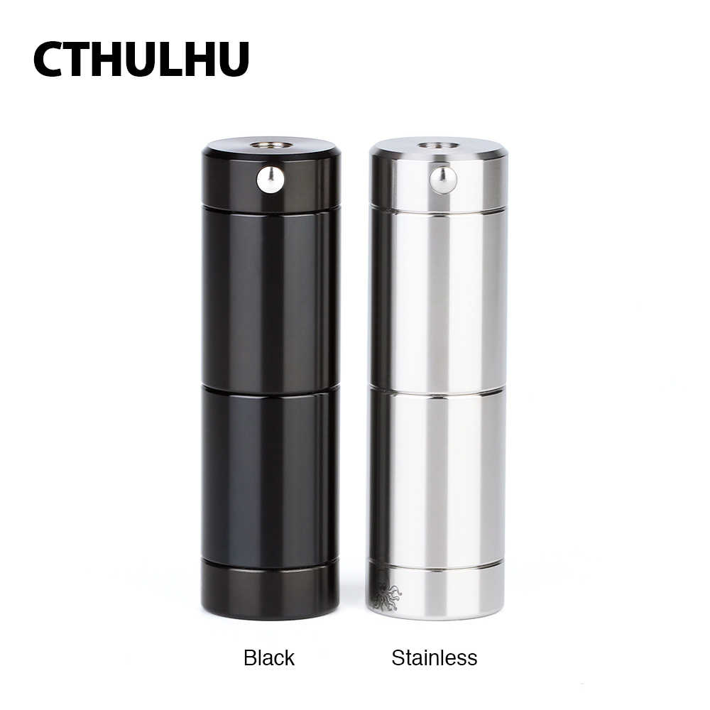 New Original Cthulhu Tube MOD with Advanced Dual MOSFET Chip E-cig Vape Semi-mechanical Mod Vs Luxe Mod/ Drag 2