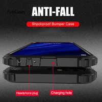 Coque antichoc luxe Armor pour Xiaomi Redmi 7 Note 6 7 Pro 5 Plus coque souple pour coque arrière Xiaomi Pocophone F1