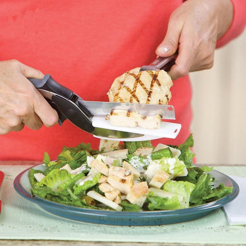 Clever Cutter (2 IN 1 KNIFE AND CUTTING BOARD)