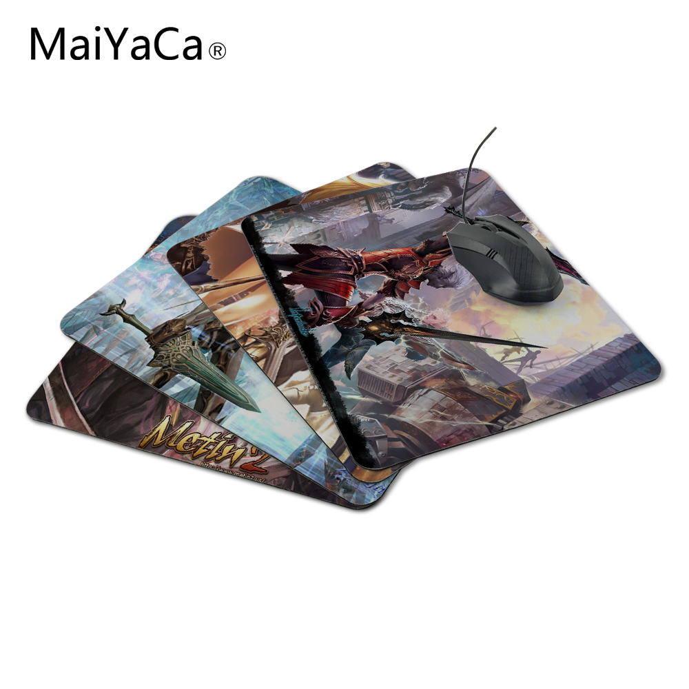 MaiYaCa lineage 2 dark elf vs elf Silicon Anti-slip Mouse Mats Computer Laptop Notbook Gaming Mouse Mat